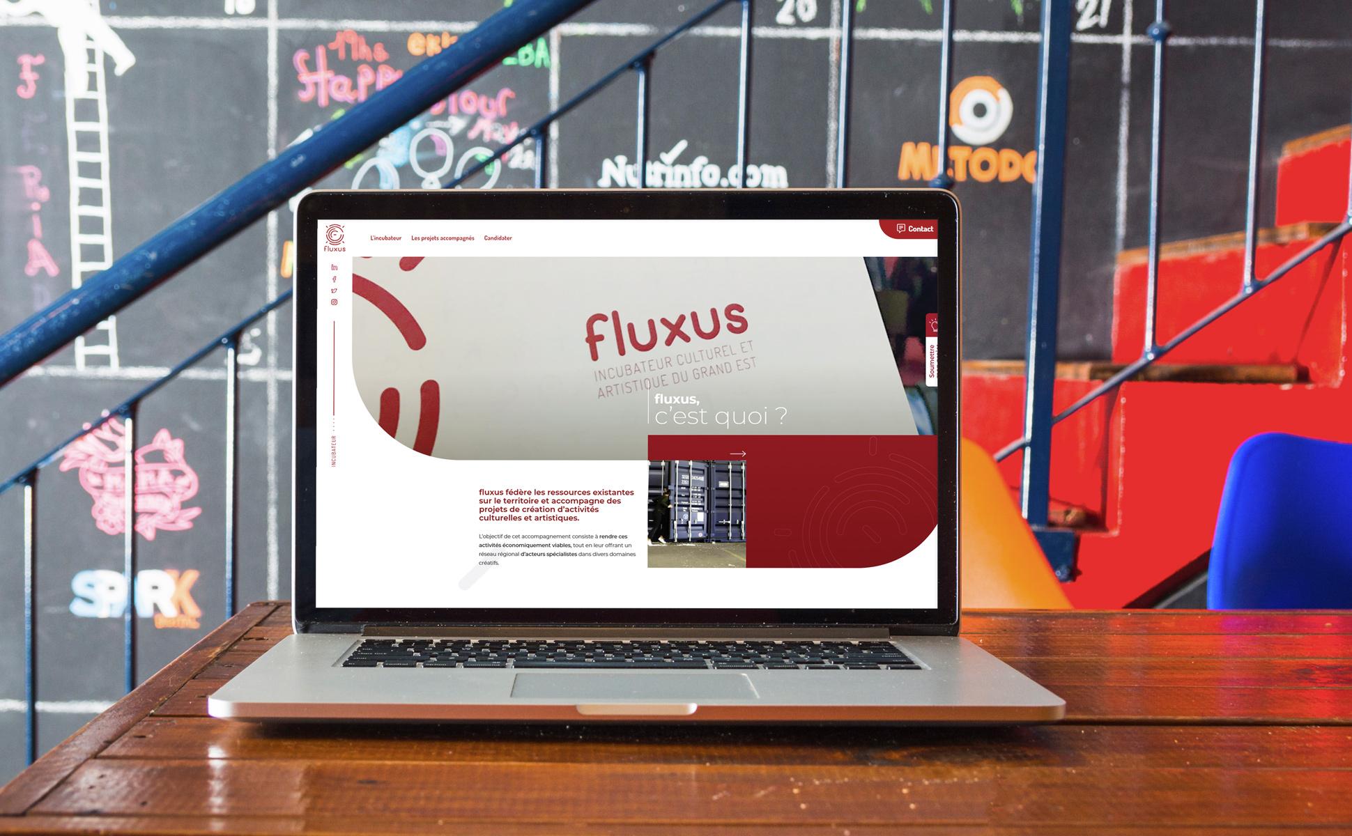 Mockup Fluxus 3