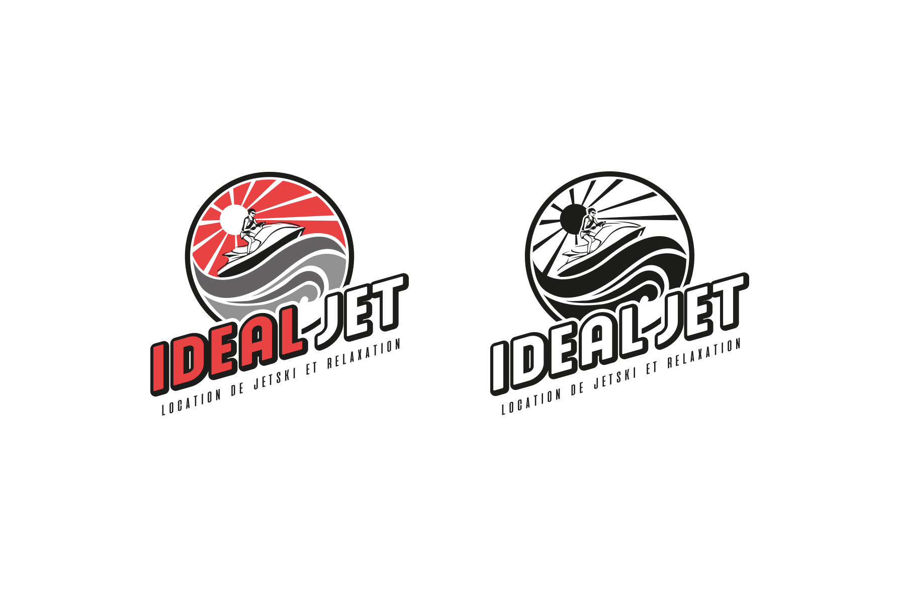 IDEAL Jet Logo 6